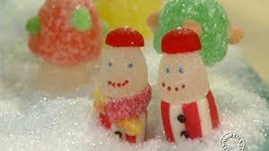 Gumdrop Christmas Tree video gumdrop candy ornaments martha stewart