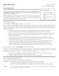 Law Enforcement Resume Cover Letter Examples Example Of Letters Ideas For