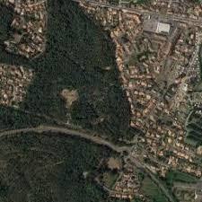 photo satellite la barre de monts 85 la barre de monts vue du ciel