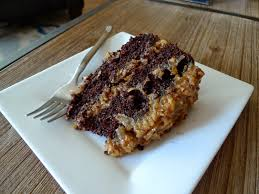A Mingling of Tastes German Chocolate Cake