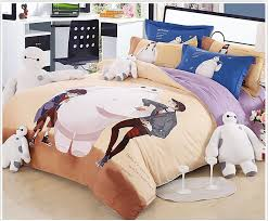 Factory Direct 100% Organic Cotton Bed Linen Big Hero Baymax