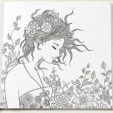 96 Pages Floating Lace Adults Colouring Book Secret Garden Art