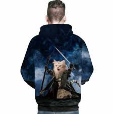 cat hoodies animal 3d cat hoodies for teen autumn or winter wear
