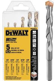 dewalt multi material drill bits bore through anything