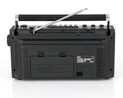 Ilive Under Cabinet Radio Walmart by Qfx Retro Collection Boom Box Black Walmart Com