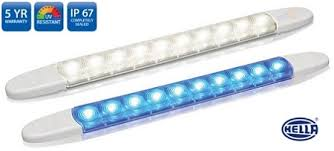Hella Marine LED Surface Mount Strip Lamps