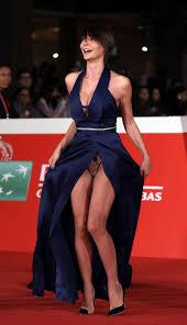 Samantha Capitoni Wardrobe Malfunction At The Rome Festival