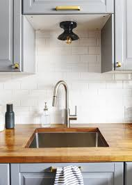 Kitchen Tile Backsplash Ideas Recycled Glass Peel And Stick For