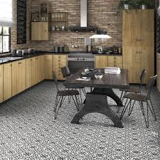 somertile 17 625x17 625 inch tudor charcoal brown ceramic floor