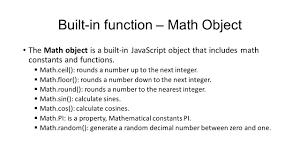 Javascript Math Ceil 0 by Javascript And Ajax Javascript Functions Week 5 Web Site Ppt