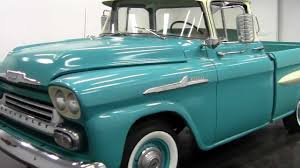 1958 Chevrolet Apache Fleetside Pickup - YouTube 1958 Chevrolet Apache For Sale On Classiccarscom Chevy Pickup Truck Editorial Stock Image Of V8 31 Pick Up Wow Barn Find Rare 4x4 Napco Youtube Autolirate A Pair Trucks Sema 2017 Simplebuilt Farm Truck Flickr Karepmu Opo Se File1958 4wd Pickup Napcojpg Wikimedia