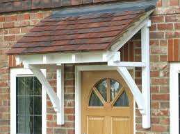 Patio Door Awning Full Size Wood Awnings Front Canopy