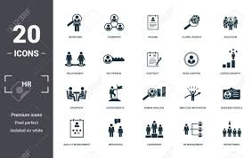 Human Resources Icons Set Collection. Includes Simple Elements.. Babysitter Experience Resume Pdf Format Edatabaseorg List Of Strengths For Rumes Cover Letters And Interviews Soccer Example Team Player Examples Voeyball September 2018 Fshaberorg Resume Teamwork Kozenjasonkellyphotoco Business People Hr Searching Specialist Candidate Essay Writing And Formatting According To Mla Citation Rules Coop Career Development Center The Importance Teamwork Skills On A An Blakes Teacher Objective Sere Selphee