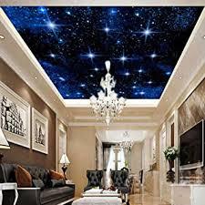 sternennacht natur tapete benutzerdefinierte große nahtlose mosaik zenith decke wandbild tapete wohnzimmer restaurant
