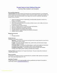 Early Intervention Aide Resume Manual Guide Example 2018 U2022 Rh Netusermanual Today Childhood Education