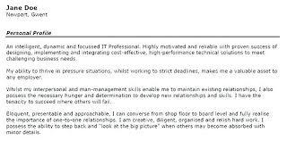 Example Resume Summary Statement Examples Skills Based My Work Skill