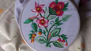 Hand Embroidery Designs For Sarees And Dresses