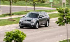 Luxury Suv With Second Row Captain Chairs by Volkswagen Atlas Reviews Volkswagen Atlas Price Photos And
