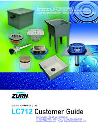 zurn light commercial drain catalog list price