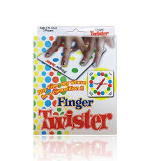 English Finger Twister Children Games The Toys Dance Family Fun Board Game