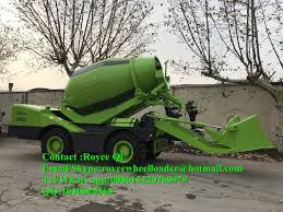 100 Concrete Truck Capacity Hot Item Self Loading Cement Mixer China Factory 40m3 Working