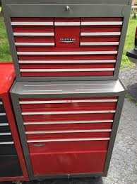 Waterloo 7 Drawer Tool Cabinet by Let U0027s Hear It For The Old Gray Red Sears Craftsman Tool Chests And