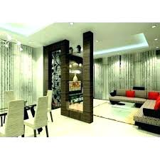 Room Divider Ideas For Living Half Wall Partition
