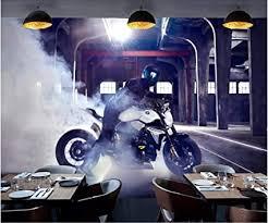 bhswd foto 3d wallpaper retro industrielle wind motorrad bar