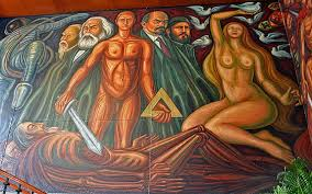 Jose Clemente Orozco Murales by Mexico