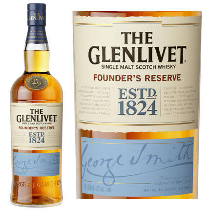 The Glenlivet Scotch