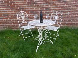 3 Piece Cream Metal Bistro Set For 2 - Ornate Garden Patio Set For Two - 2  Folding Chairs 70cm Table Brompton Metal Garden Rectangular Set Fniture Compare 56 Bistro Black Wrought Iron Cafe Table And Chairs Pana Outdoors With 2 Pcs Cast Alinium Tulip White Vintage Patio Ding Buy Tables Chairsmetal Gardenfniture Italian Terrace Fniture Archives John Lewis Partners Ala Mesh 6seater And Bronze Home Hartman Outdoor Products Uk Our Pick Of The Best Ideal Royal River Oak 7piece Padded Sling Darwin Metal 6 Seat Garden Ding Set