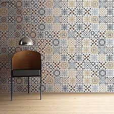 walplus wandaufkleber ablösbar selbstklebend wandkunst aufkleber vinyl wohndeko diy wohnzimmer schlafzimmer küche dekor tapete geschenk azulejo