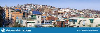 100 South Korea Houses Panorama Of Seoul Stock Photo Image Of Roof Houses