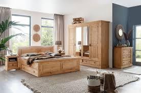 schlafzimmer kiefer massiv 4 teilig mit schubkastenbett modell moni im landhausstil