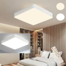 details zu 48w led deckenle deckenleuchte schlafzimmer quadrat dimmbar beleuchtung de