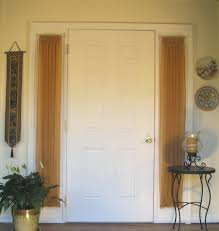 Kirsch Curtain Rods Jcpenney by Door Rod U0026 Elegant Beige Jcpenney Curtains With Black Metal Double