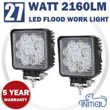 Pair 27W Epistar LED Work Light Square Offroad Flood Lamp Truck Boat ... Truck Lite Led Spot Light With Ingrated Mount 81711 Trucklite Work Light Bar 4x4 Offroad Atv Truck Quad Flood Lamp 8 36w 12x Work Lights Bar Flood Offroad Vehicle Car Lamp 24w Automotive Led Lens Fog For How To Install Your Own Driving Offroad 9 Inch 185w 6000k Hid 72w Nilight 2pcs 65 36w Off Road 5 72w Roof Rigid Industries D2 Pro Flush Mount 1513 180w 13500lm 60 Led Work Light Bar Off Road Jeep Suv Ute Mine 10w Roundsquare Spotflood Beam For Motorcycle