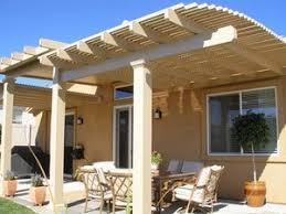Alumawood Patio Covers Riverside Ca by Orange County Lattice Patio Covers Santa Ana Ca Aluminum Patios