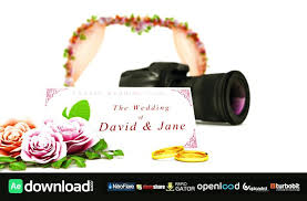 Wedding Intro Template Video After Effects Templates Film Free Download