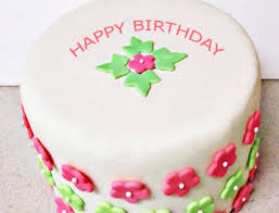 Happy Birthday Flowers Cake With Friend s Name
