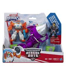 PLAYSKOOL HEROES TRANSFORMERS Rescue Bots Shark Sub Capture 3+ Toy ...