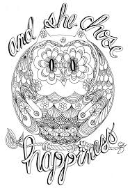 Owl Coloring Pages Website Picture Gallery For Adults