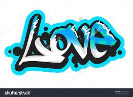 Art Written In Graffiti The Word