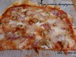 recettes de pâte à pizza epaisse