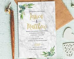 Rustic Wedding Invitation Reception Postcard Invitations Simple