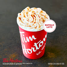 Pumpkin Spice Latte Mms by Tim Hortons Introduces New Buffalo Latte Business Wire