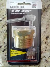 Bathtub Drain Stopper Removal Tool by Removing A Bathtub Drain That Has Broken Crossbars Flounderings