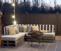 DIY Making Your Own Pallet Patio Furniture