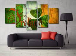 Irish Prined Wall Canvas
