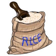 Grains Clipart Rice Bag 1